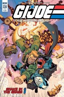G.I. Joe: A Real American Hero #230 (Subscription Cover)