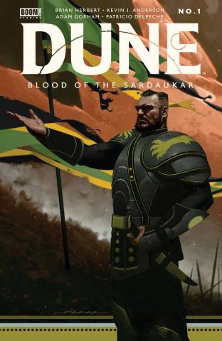 Dune: Blood of the Sardaukar #1 (Dekal Cover)