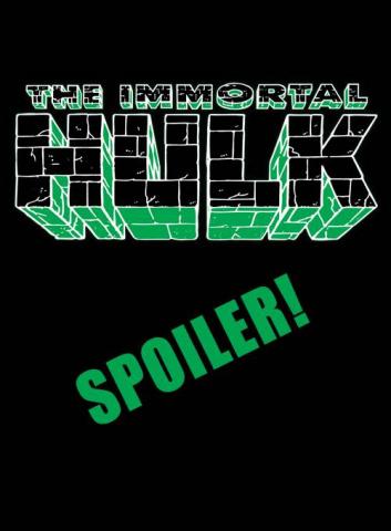 The Immortal Hulk #38 (Bennett Spoiler Cover)