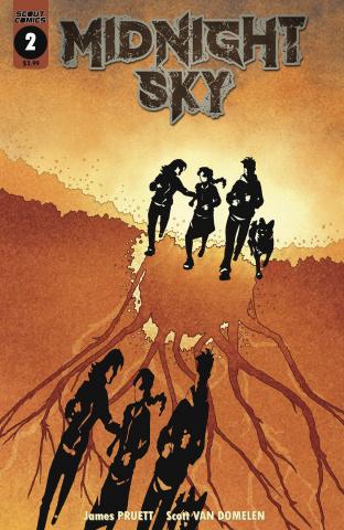 Midnight Sky #2 (Van Domelen Invasion Body Snatchers Cover)