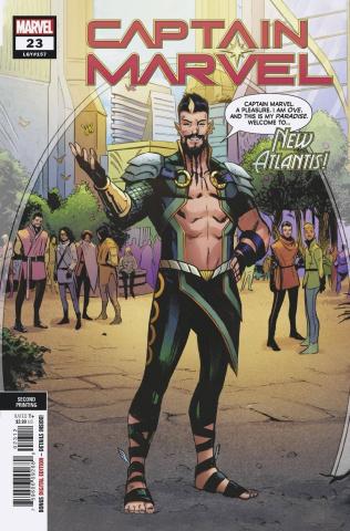 Captain Marvel #23 (2nd Printing)
