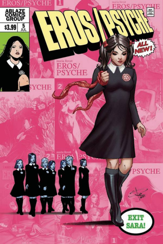 Eros / Psyche #5 (Sabine Rich Cover)