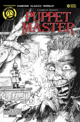 Puppet Master #13 (Sketch Kill Cover)
