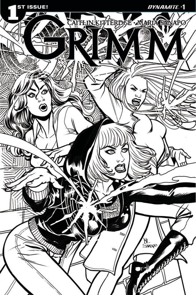 Grimm #1 (10 Copy Sanapo B&W Cover)