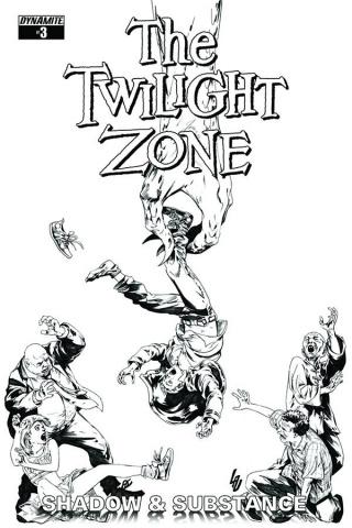 The Twilight Zone: Shadow & Substance #3 (20 Copy Lau B&W Cover)