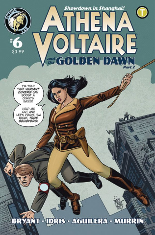 Athena Voltaire #6 (Millet Cover)