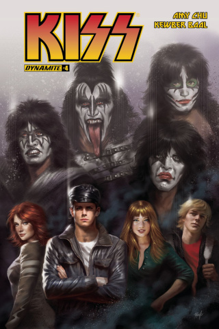 KISS #4 (Parillo Cover)
