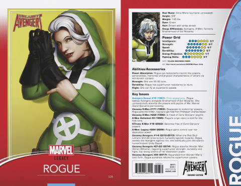 Uncanny Avengers #28 (Christopher Trading Card Cover)