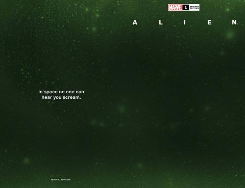 Alien #1 (Wraparound Space Cover)