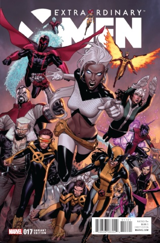 Extraordinary X-Men #17 (Molina IvX Cover)