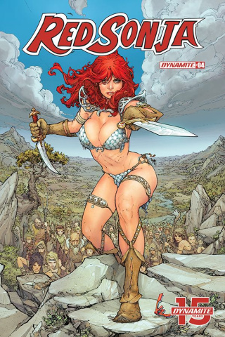Red Sonja #4 (Rocafort Cover)