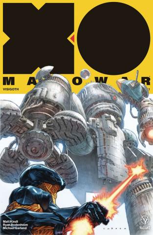 X-O Manowar #11 (Larosa Cover)