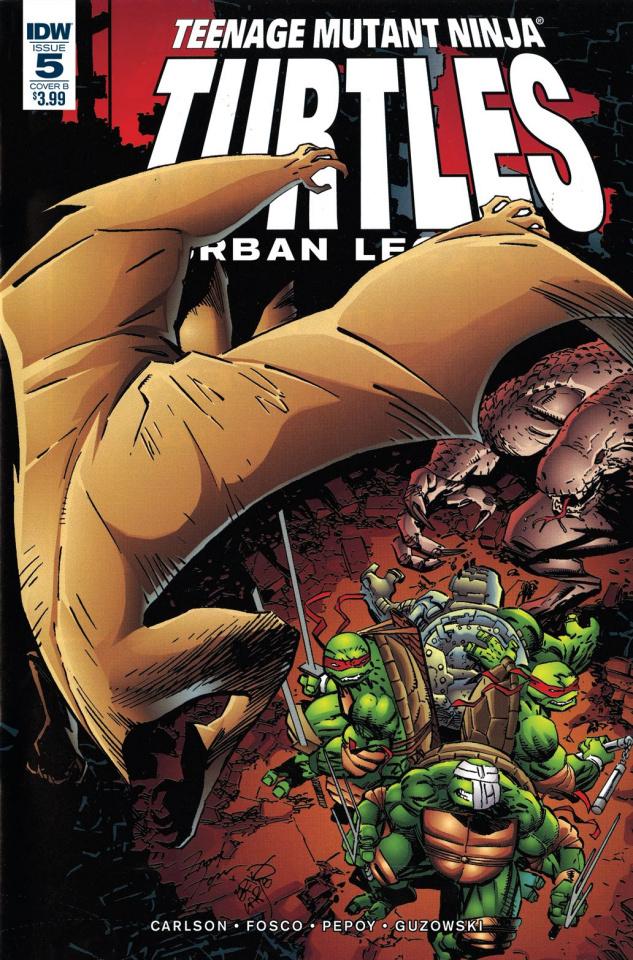Teenage Mutant Ninja Turtles: Urban Legends #5 (Fosco / Larsen Cover)