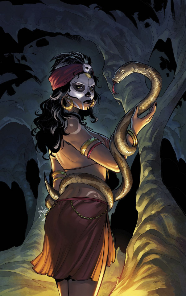 Grimm Fairy Tales: Day of the Dead #5 (Andolfo Cover)