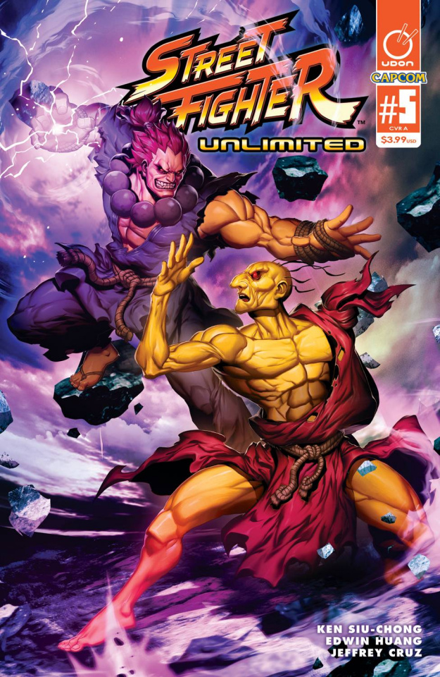 Street Fighter Unlimited #5 (Genzoman Story Cover)