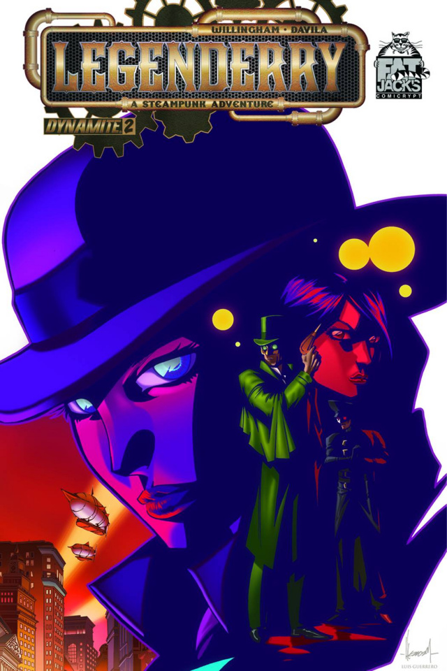 Legenderry: A Steampunk Adventure #2 (Fat Jack's Limited Cover)