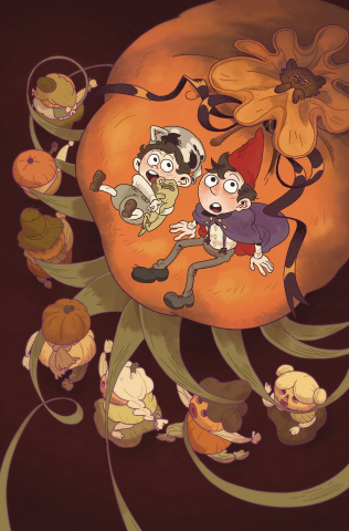 Over the Garden Wall #20 (Subscription Omac Cover)