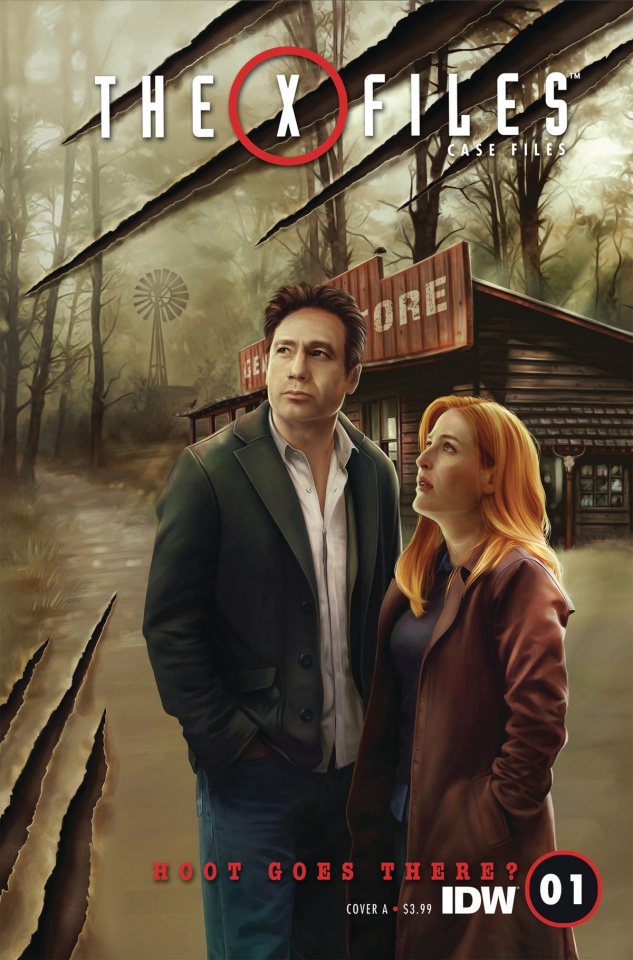 The X-Files Case Files: Hoot Goes There? #1 (Nodet Cover)