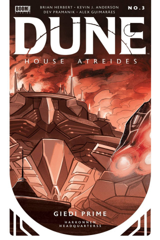 Dune: House Atreides #3 (Pramanik Cover)