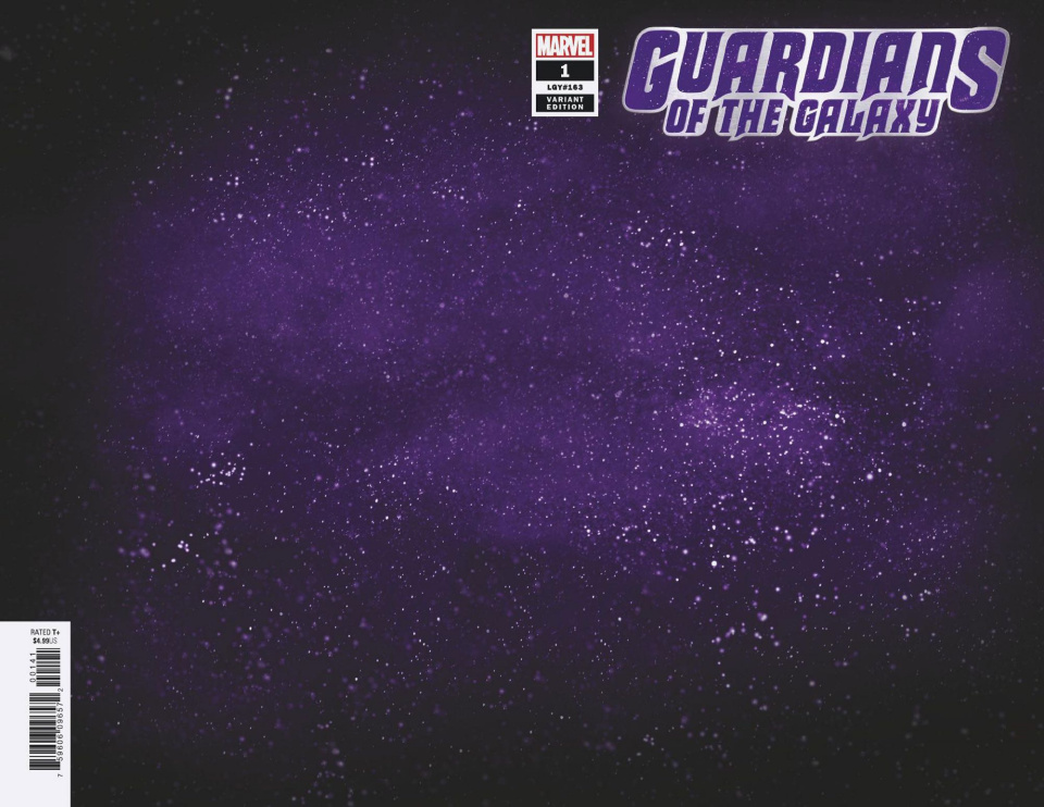 Guardians of the Galaxy #1 (Space Cover)