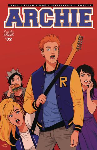 Archie #32 (Mok Cover)