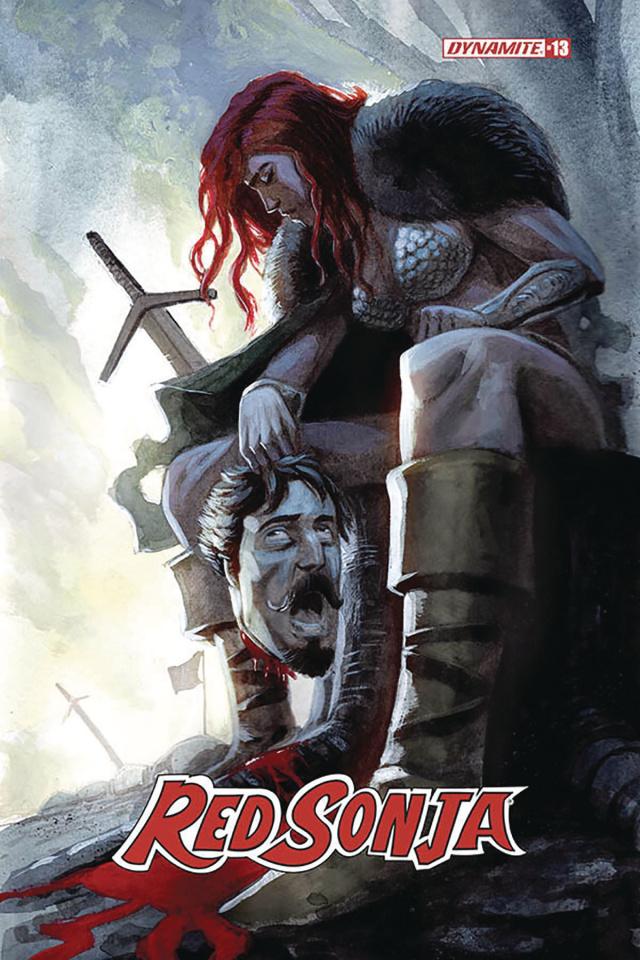 Red Sonja #13 (Bob Q Cover)