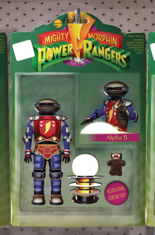 Mighty Morphin' Power Rangers #21 (Unlockable McDonald Cover)