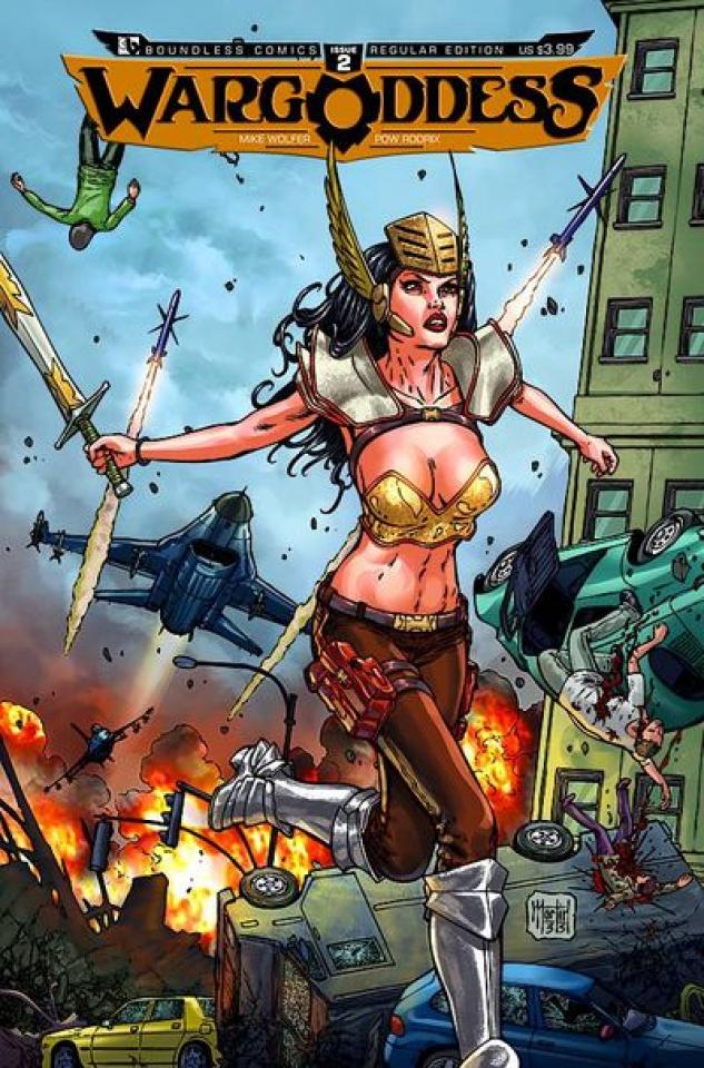 War Goddess #2