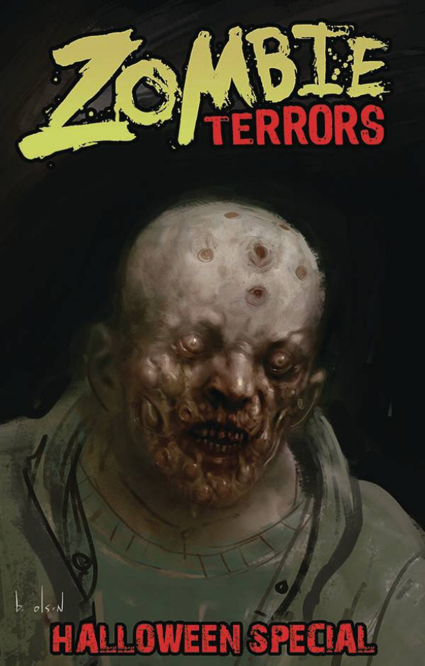 Zombie Terrors Halloween Special (Olson Cover)
