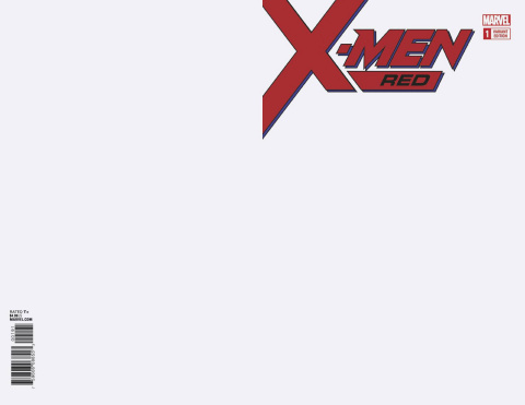 X-Men: Red #1 (Blank Cover)