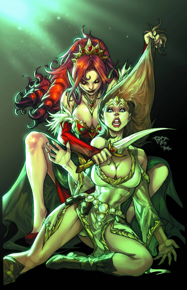 Grimm Fairy Tales: Quest #3 (Pantalena Cover)