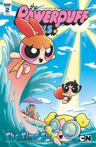 The Powerpuff Girls: Time Tie #2 (10 Copy Cover)