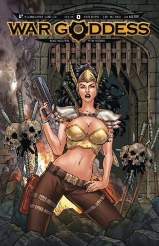 War Goddess #0 (Fan Expo Cover)