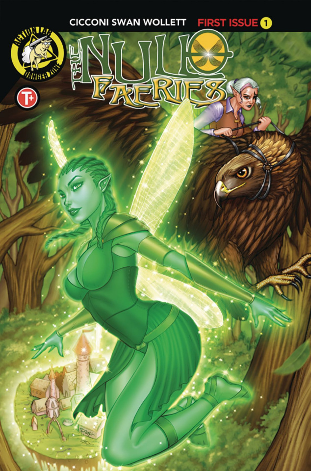 The Null Faeries #1 (Suhng Cover)