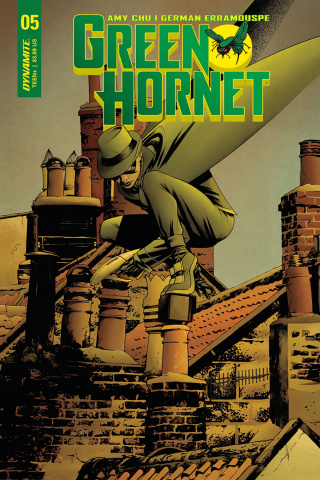 Green Hornet #5 (McKone Cover)