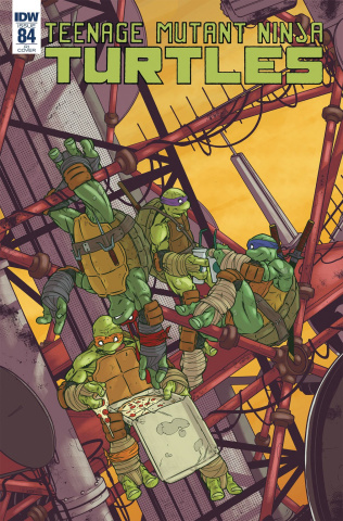 Teenage Mutant Ninja Turtles #84 (10 Copy Pasta Cover)
