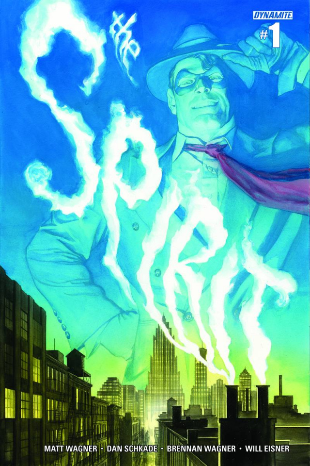 The Spirit #1 (Ross Subscription Cover)