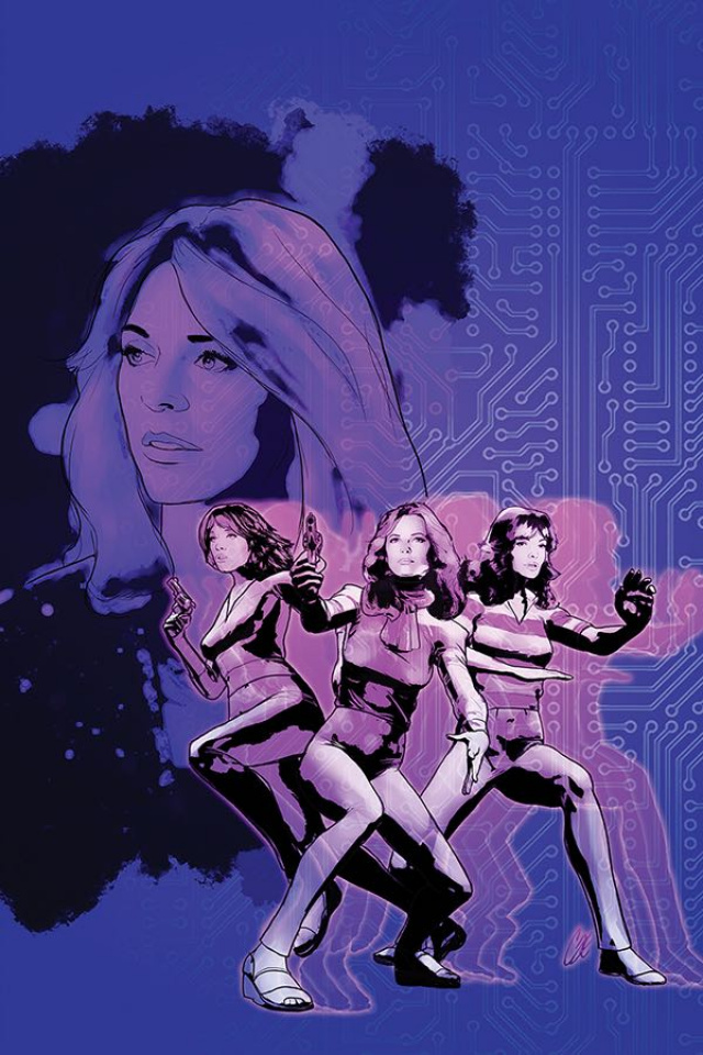 Charlie's Angels vs. The Bionic Woman #2 (20 Copy Staggs Virgin Cover)