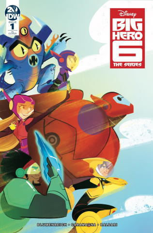 Big Hero 6 #1 (10 Copy Baldari Cover)