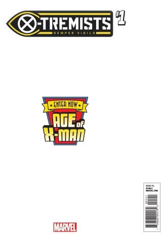 Age of X-Man: X-Tremists #1 (Pacheco Secret Cover)