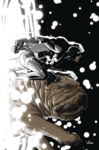 Black Bolt #8 (Derington Cover)