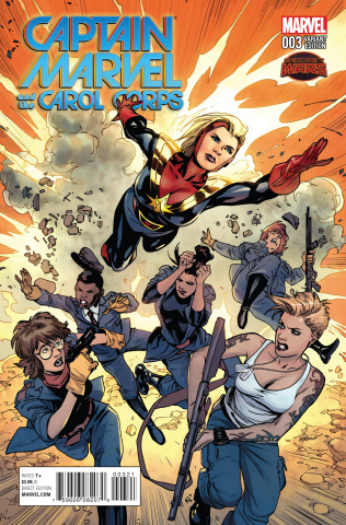 Captain Marvel and the Carol Corps #3 (Lupacchino Cover)