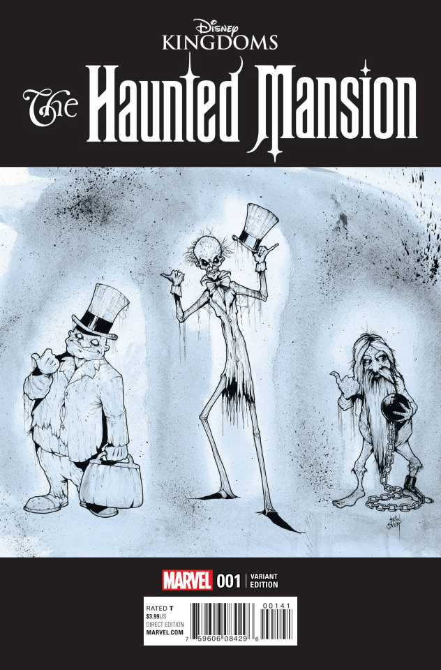 The Haunted Mansion #1 (Crosby Cover)