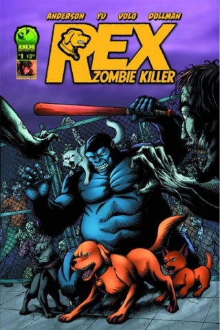 Rex: Zombie Killer #1