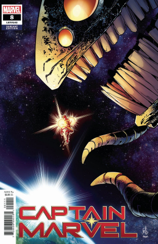 Captain Marvel #8 (Izaakse Cover)