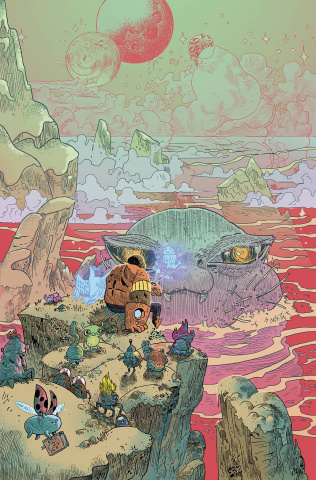 Bravest Warriors Tales: Holo John #1 (10 Copy Trakhanov Cover)