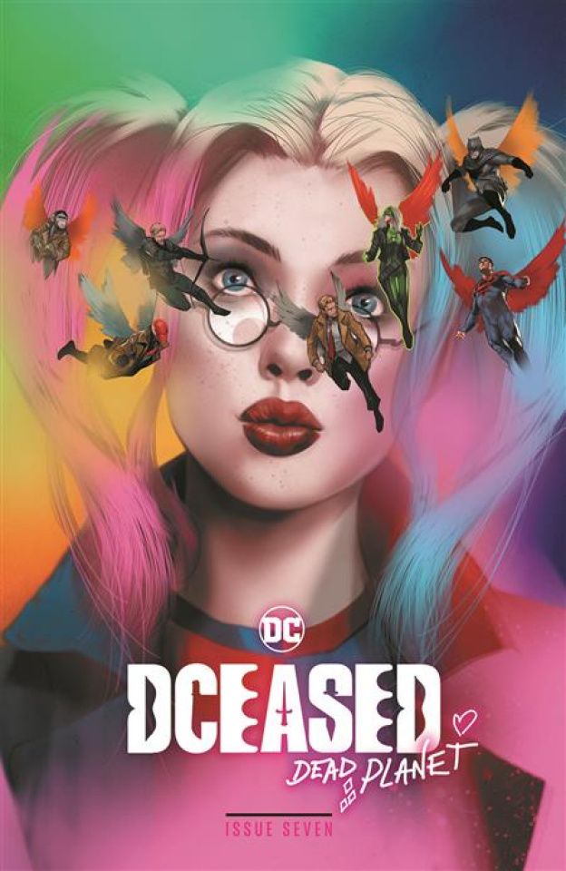 DCeased: Dead Planet #7 (Ben Oliver Movie Homage Card Stock Cover)
