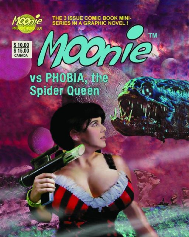 Moonie Vs. Phobia Spider Queen