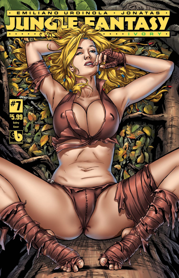 Jungle Fantasy: Ivory #7 (Sultry Cover)