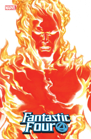 Fantastic Four #24 (Alex Ross Human Torch Timeless Cover)